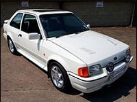 Ford Escort RS Turbo Driving Experiences
