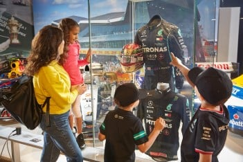 Aspiring young Hamiltons race to Silverstone Interactive Museum