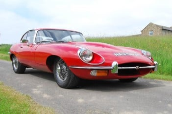 Celebrate your 60th with a Jaguar E-Type driving experience