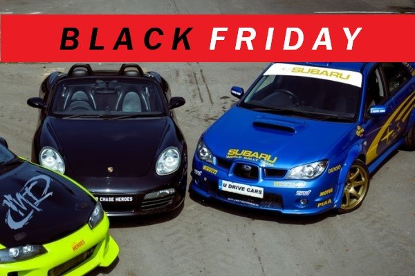 EXCLUSIVE: Driving Experience Black Friday 2020 preview