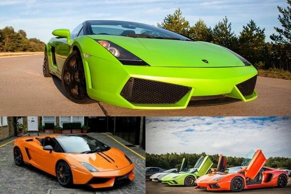 Five of the best: Lamborghinis