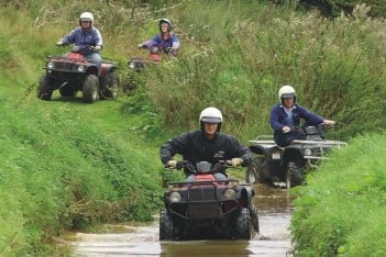 Off the scale bookings for off-road Father's Day fun