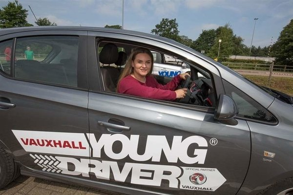 School's out - but junior driving school is in
