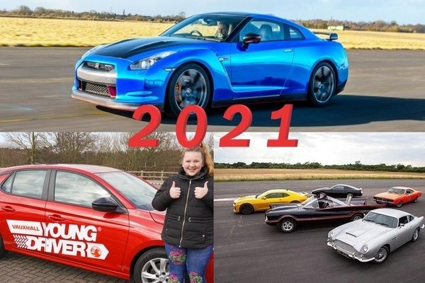 Three great driving experiences to look out for in 2021