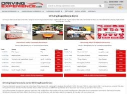 Welcome to Driving Experience Days