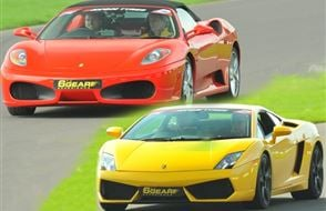 Double Supercar Thrill (Premium) Experience from drivingexperience.com