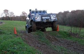 4x4 One to One Off Road Driving Experience from drivingexperience.com