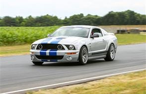 American Muscle Thrill with High Speed Passenger Ride Experience from drivingexperience.com