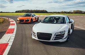 Audi R8 Thrill Experience from drivingexperience.com