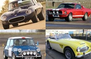 Triple Classic Car Thrill Experience from drivingexperience.com