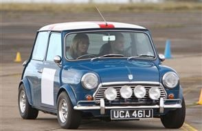 Classic Mini Thrill Experience from drivingexperience.com