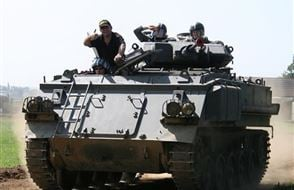 Adult and Child Tank Driving Experience Experience from drivingexperience.com