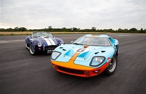 Double American Muscle Blast with High Speed Passenger Ride Experience from drivingexperience.com
