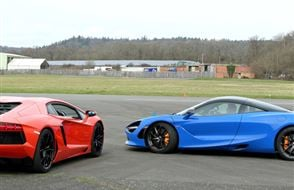 Double Diamond Supercar Thrill Experience from drivingexperience.com