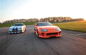 Double Fast and Furious Thrill with High Speed Passenger Ride Experience from drivingexperience.com