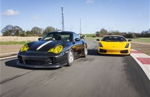 Double Supercar Blast Experience from drivingexperience.com