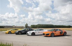 Double Supercar Passenger Ride Experience from drivingexperience.com