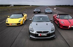Four Supercar Thrill (Anytime) Experience from drivingexperience.com