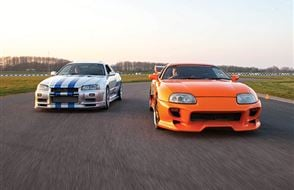Double Fast and Furious Blast with High Speed Passenger Ride Experience from drivingexperience.com