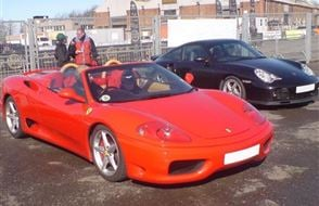 Ferrari v Porsche and Hot Laps Experience from drivingexperience.com