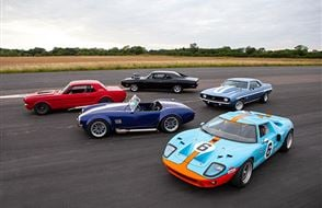 Five American Muscle Blast with High Speed Passenger Ride Experience from drivingexperience.com