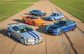 Five Fast and Furious Thrill with High Speed Passenger Ride Experience from drivingexperience.com