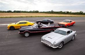 Five Movie Car Blast with High Speed Passenger Ride Experience from drivingexperience.com