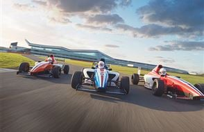 Formula Silverstone Single Seater Thrill Experience from drivingexperience.com