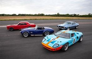 Four American Muscle Blast with High Speed Passenger Ride Experience from drivingexperience.com