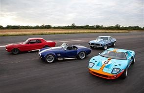 Four American Muscle Thrill with High Speed Passenger Ride Experience from drivingexperience.com