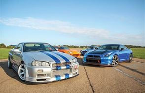 Four Fast and Furious Thrill with High Speed Passenger Ride Experience from drivingexperience.com