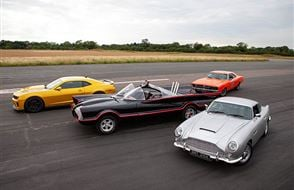 Four Movie Car Blast with High Speed Passenger Ride Experience from drivingexperience.com