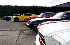 Four Movie Car Blast with Hot Lap Experience from drivingexperience.com