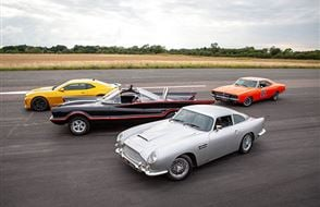 Four Movie Car Thrill with High Speed Passenger Ride Experience from drivingexperience.com