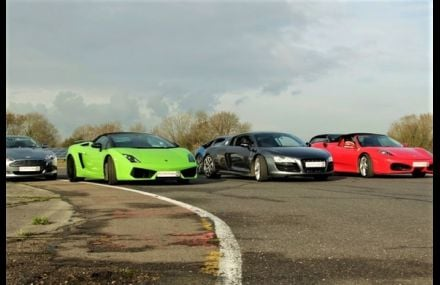 Four Supercar Blast Experience from drivingexperience.com