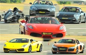 Four Supercar Thrill (Premium) Experience from drivingexperience.com