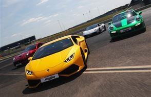 Four Supercar Thrill - Anytime Experience from drivingexperience.com