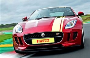 Jaguar F-TYPE Thrill Experience from drivingexperience.com