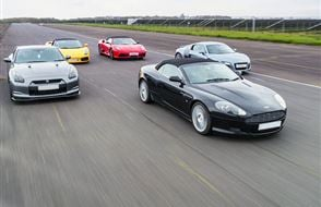 Junior Five Supercar Passenger Ride (2 miles) Experience from drivingexperience.com