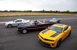 Junior Four Movie Car Blast with High Speed Passenger Ride Experience from drivingexperience.com