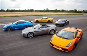 Junior Six Supercar Blast with High Speed Passenger Ride Experience from drivingexperience.com