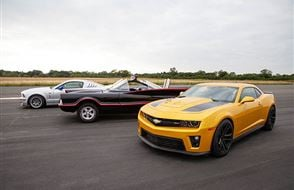 Junior Triple Movie Car Thrill with High Speed Passenger Ride Experience from drivingexperience.com