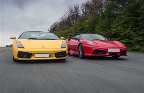 Junior Two Supercar High Speed Passenger Ride (2 miles) Experience from drivingexperience.com