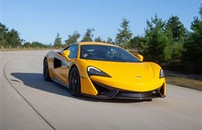 McLaren 570S Blast with High Speed Passenger Ride Experience from drivingexperience.com