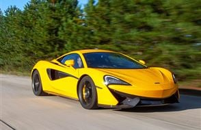 McLaren 570S Thrill with High Speed Passenger Ride Experience from drivingexperience.com