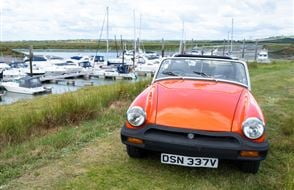 MG Midget Classic Car Hire - Grab the Weather Deal Experience from drivingexperience.com