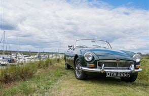 Any MG Anytime Classic Car Hire - Grab the Weather Deal Experience from drivingexperience.com