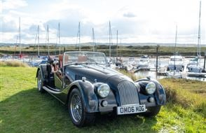 Morgan Roadster V6 Hire - Grab the Weather Deal Experience from drivingexperience.com