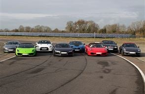 Supercar High Speed Passenger Ride Experience from drivingexperience.com