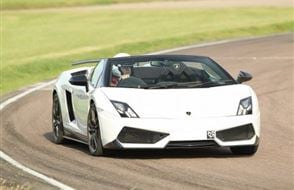 Supercar Double Platinum Experience from drivingexperience.com